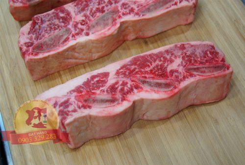 Sườn bò Úc có xương