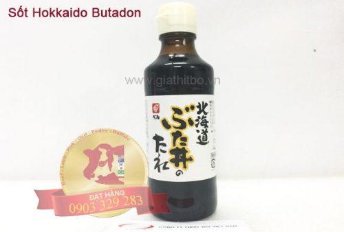 Sốt Hokkaido Butadon (Nhật)
