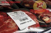 Giá thịt bò Mỹ tháng 3-2017